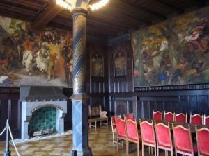 Schloss Burg Gemälde